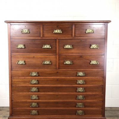 Edwardian Bank of Drawers